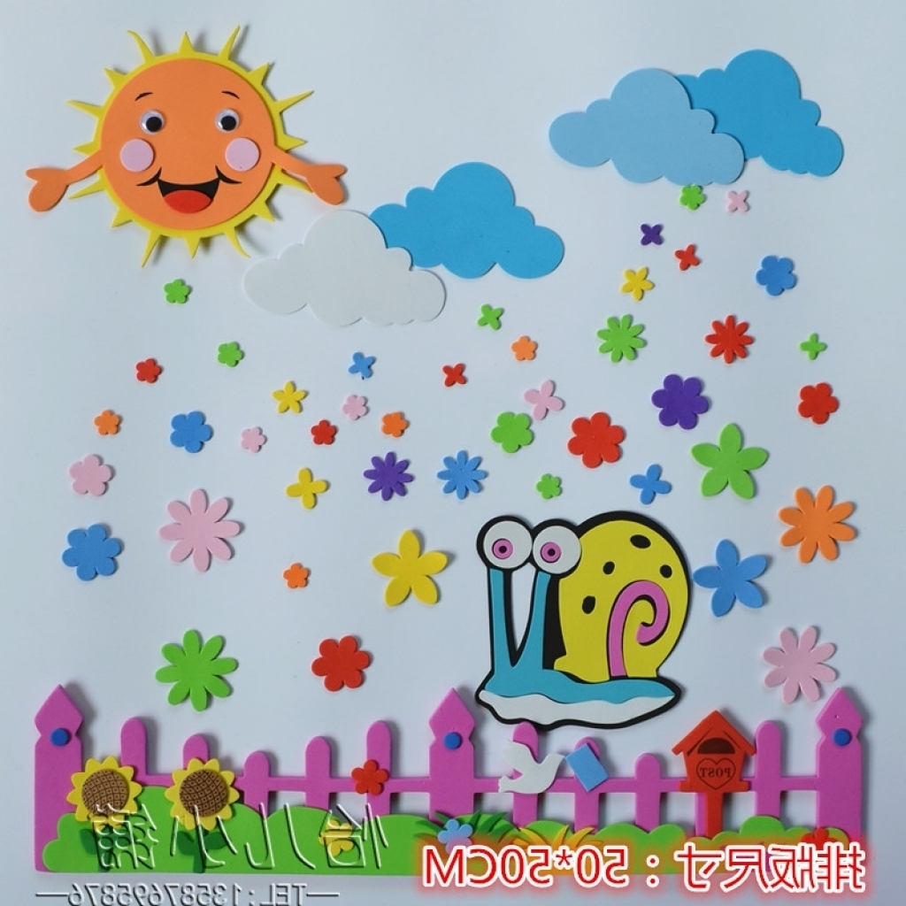 Featured Photo of Preschool Wall Decoration