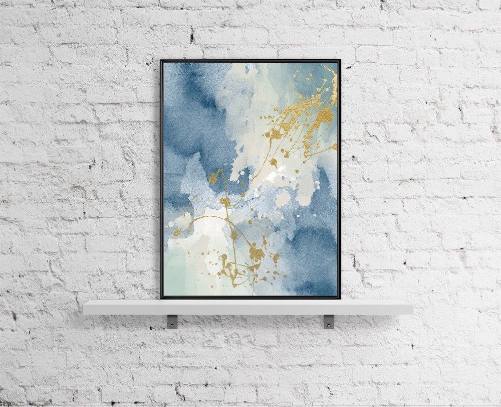 Recent Printable Abstract Wall Art With Modern Printable Wall Art Pastel Print Abstract Paint Watercolor (View 14 of 15)
