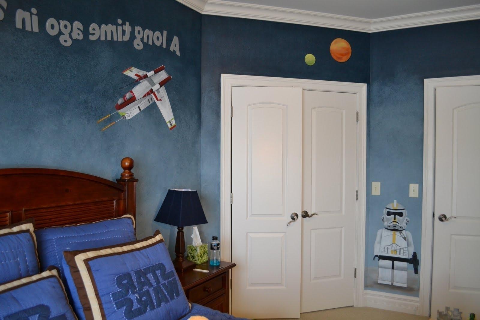 Recent Star Wars Bedroom (Gallery 13 of 15)