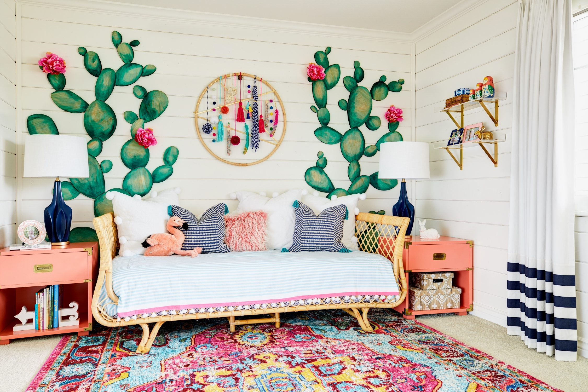 Recent There's Color And Texture And Whimsy To Spare In This Boho Chic Intended For Boho Chic Wall Art (View 11 of 15)