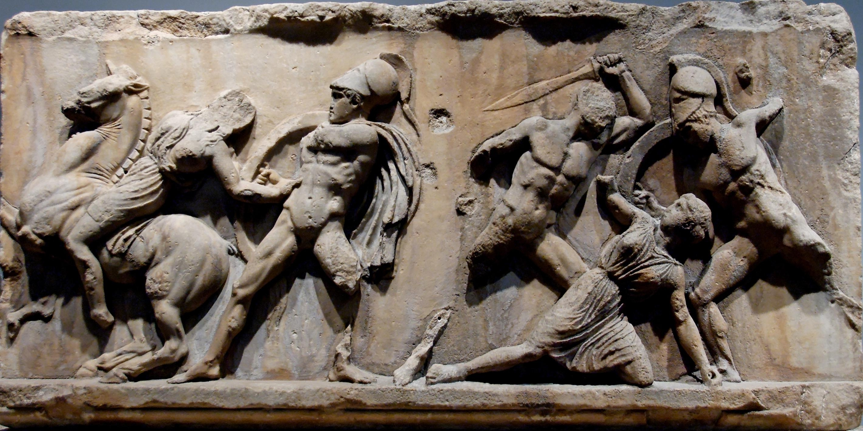 Recent This Is Greek Art Of Five Men Battling In Ancient Greece. This Art Within Ancient Greek Wall Art (Gallery 5 of 15)