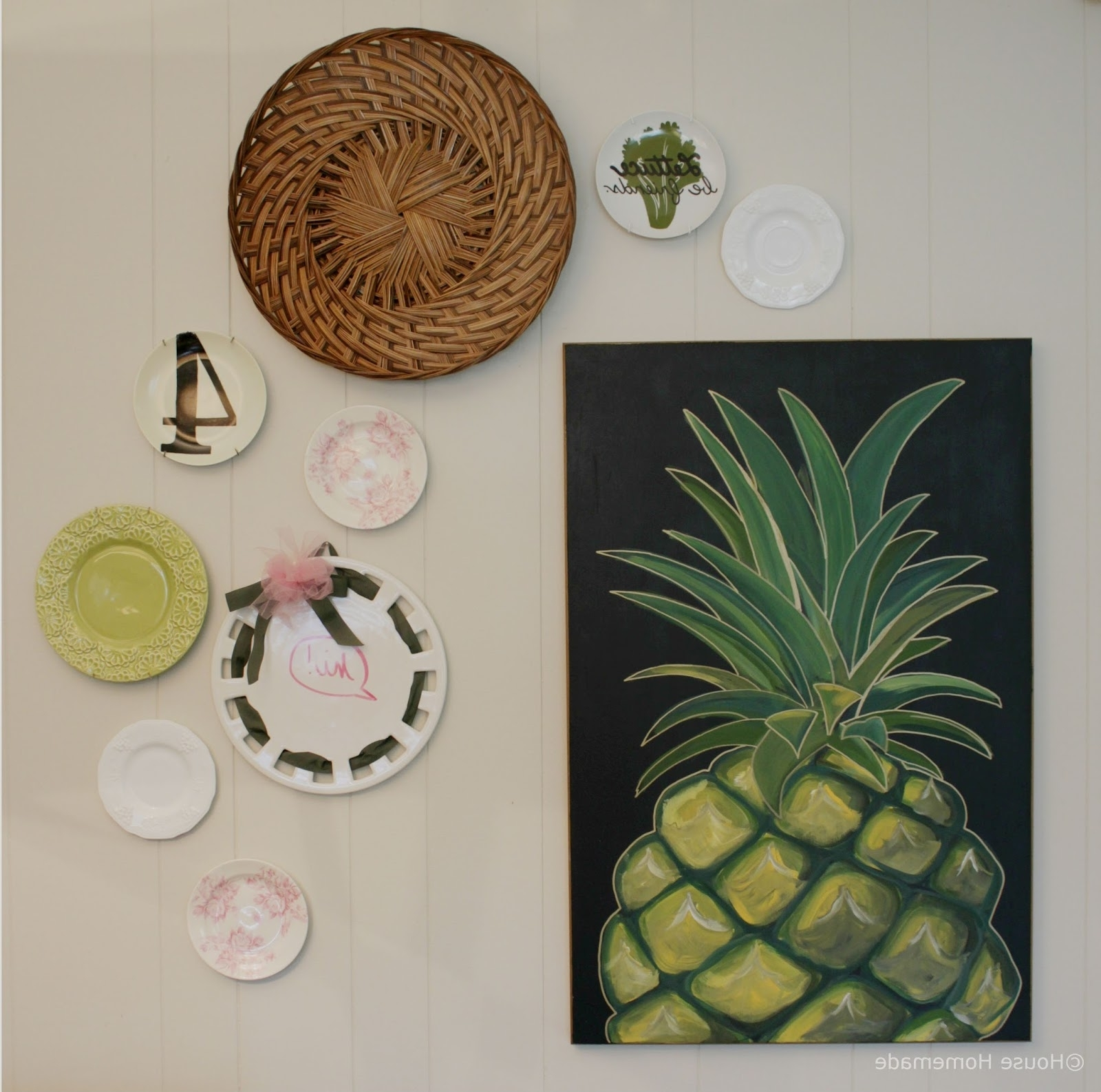 Recent Turn Pictures Into Wall Art Intended For House Homemade: How To Turn Decor Into Wall Art (View 14 of 15)