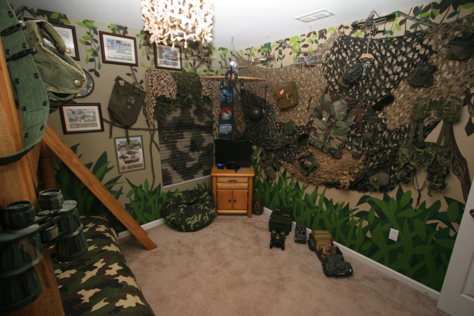 Recent Very Cool Camo Room Decor — Office And Bedroom In Camouflage Wall Art (Gallery 1 of 15)