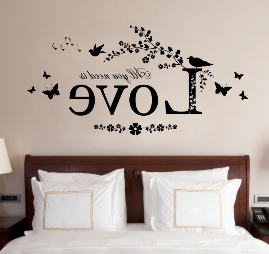 Recent Wall Art Designs For Bedroom Wall Art Ideas Fair Interesting Bedroom Art Ideas Wall (View 5 of 15)