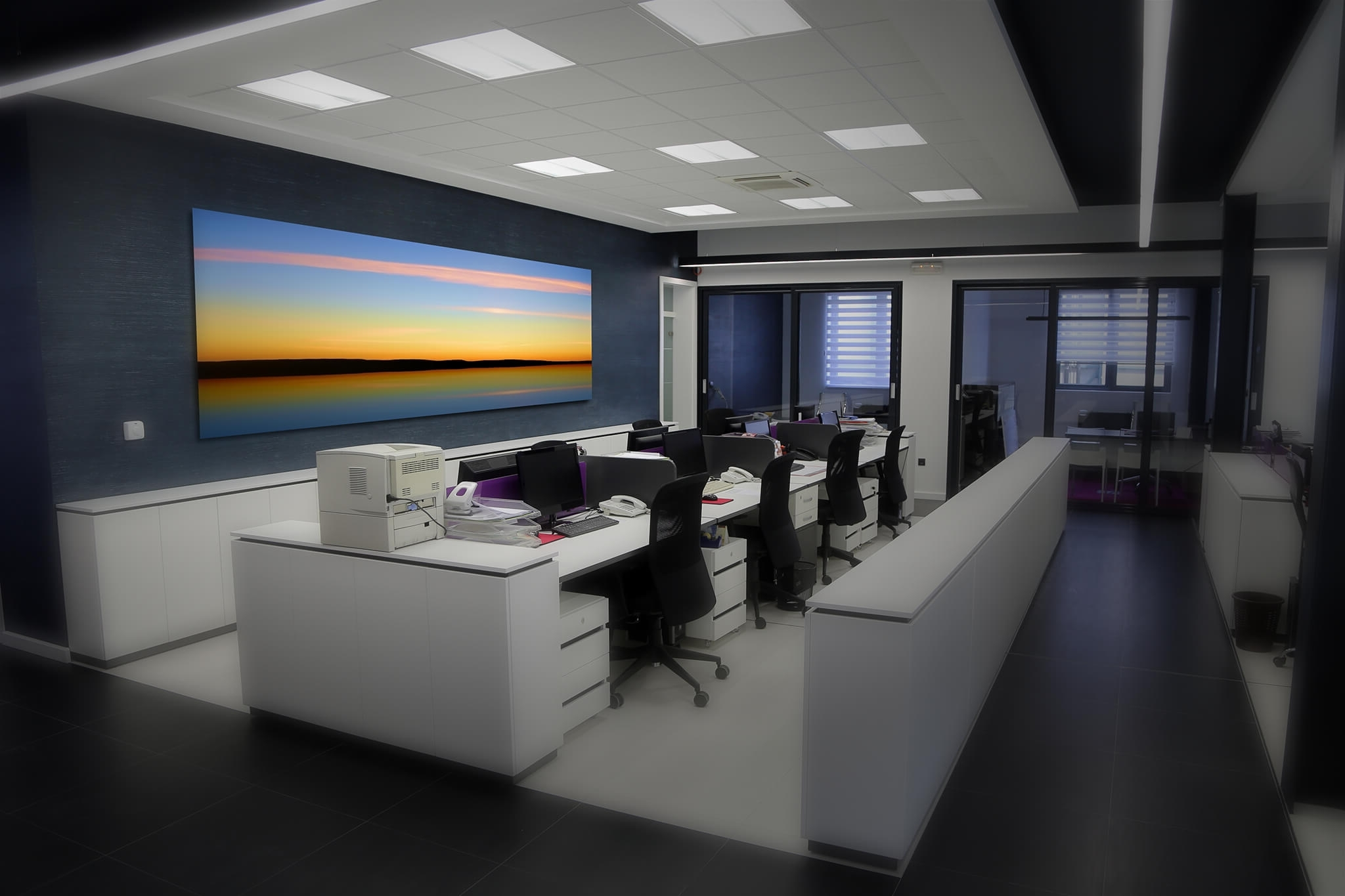 Recent Wall Art For Offices Regarding Inspirational Modern Office Wall Art  Architecture Nice (Gallery 8