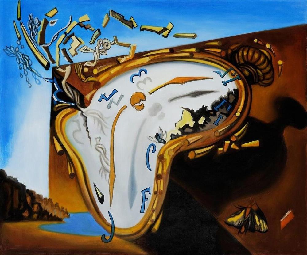 Recent Wall Art Ideas Design : Popular Salvador Dali Wall Art Decorations With Salvador Dali Wall Art (View 6 of 15)