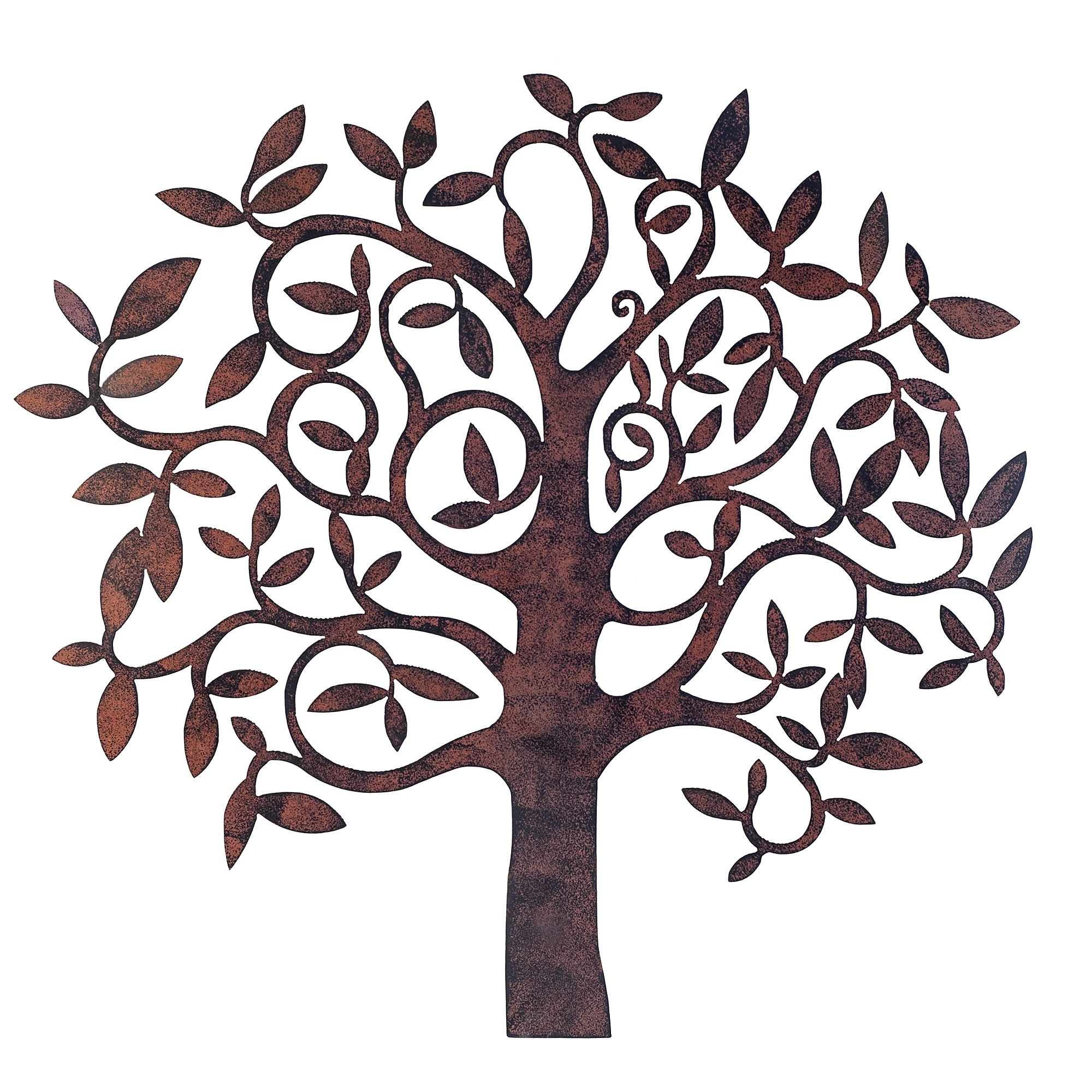 Recent Wall Art Ideas Design : Trees Metal Garden Wall Art White Regarding Large Garden Wall Art (View 11 of 15)