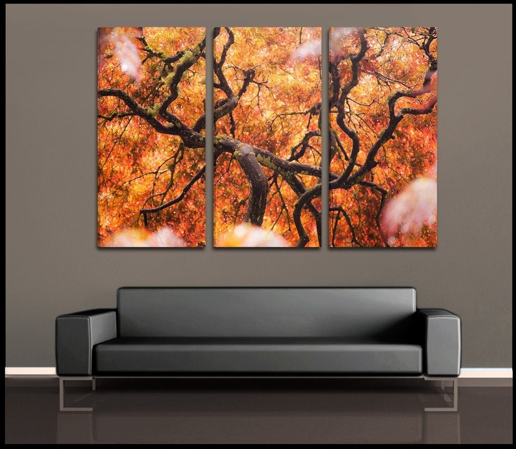 Recent Wall Art Multiple Pieces Throughout Peachy Design Ideas Multiple Piece Wall Art With Luxury 15 In For (Gallery 3 of 15)