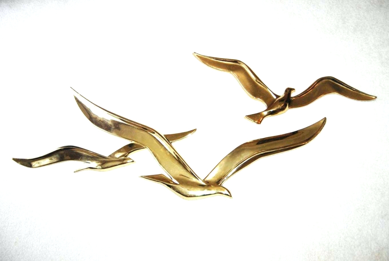 Recent Wall Arts ~ Metal Seagulls Wall Art Brass Seagulls Wall Art Flock Pertaining To Seagull Metal Wall Art (Gallery 6 of 15)