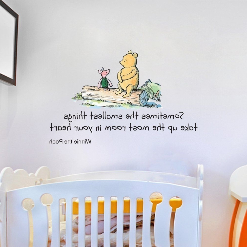 Recent Winnie The Pooh Bedroom: Home, Furniture & Diy (View 11 of 15)