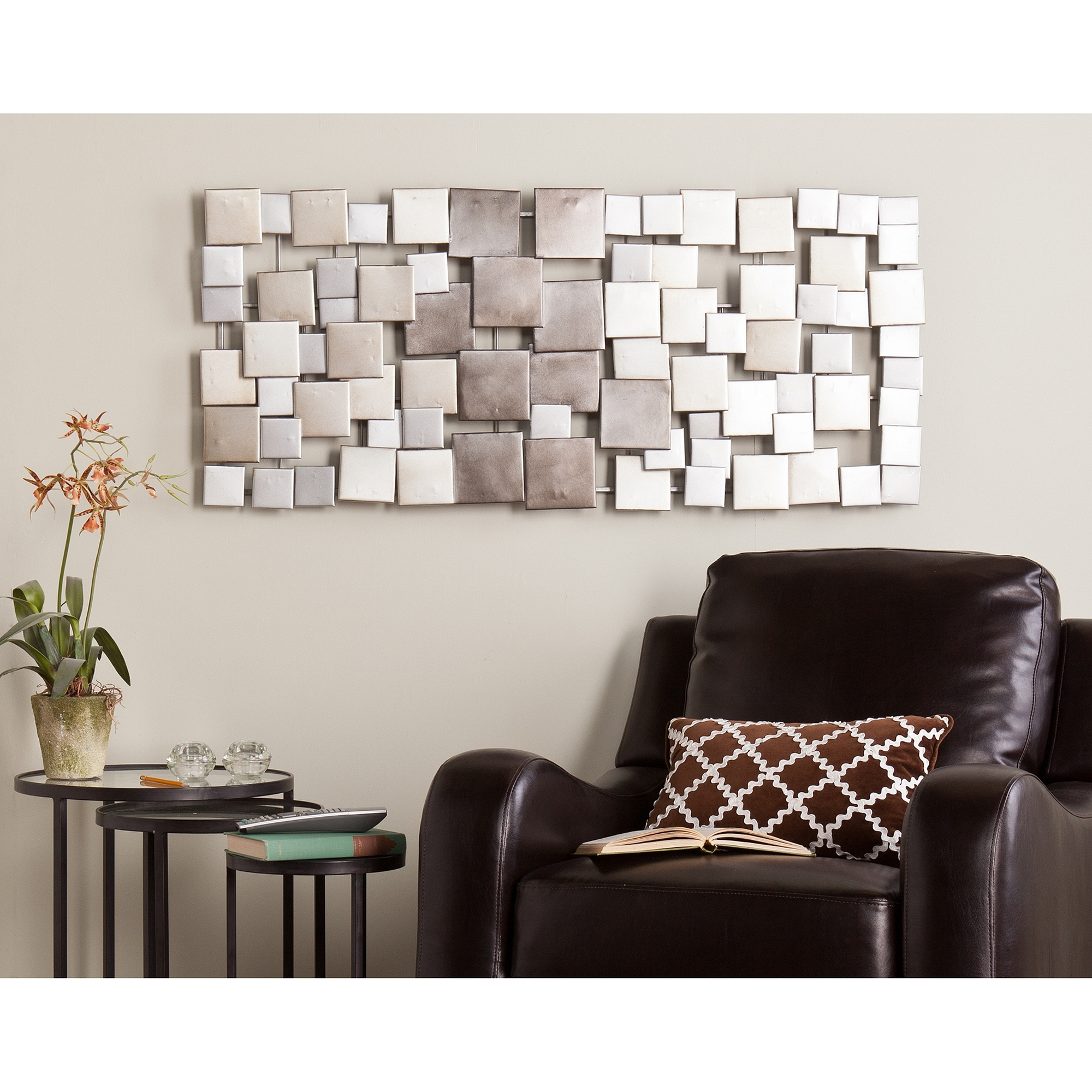 Rectangular Metal Wall Art Pertaining To Current Metal Wall Art – Walmart (View 8 of 15)