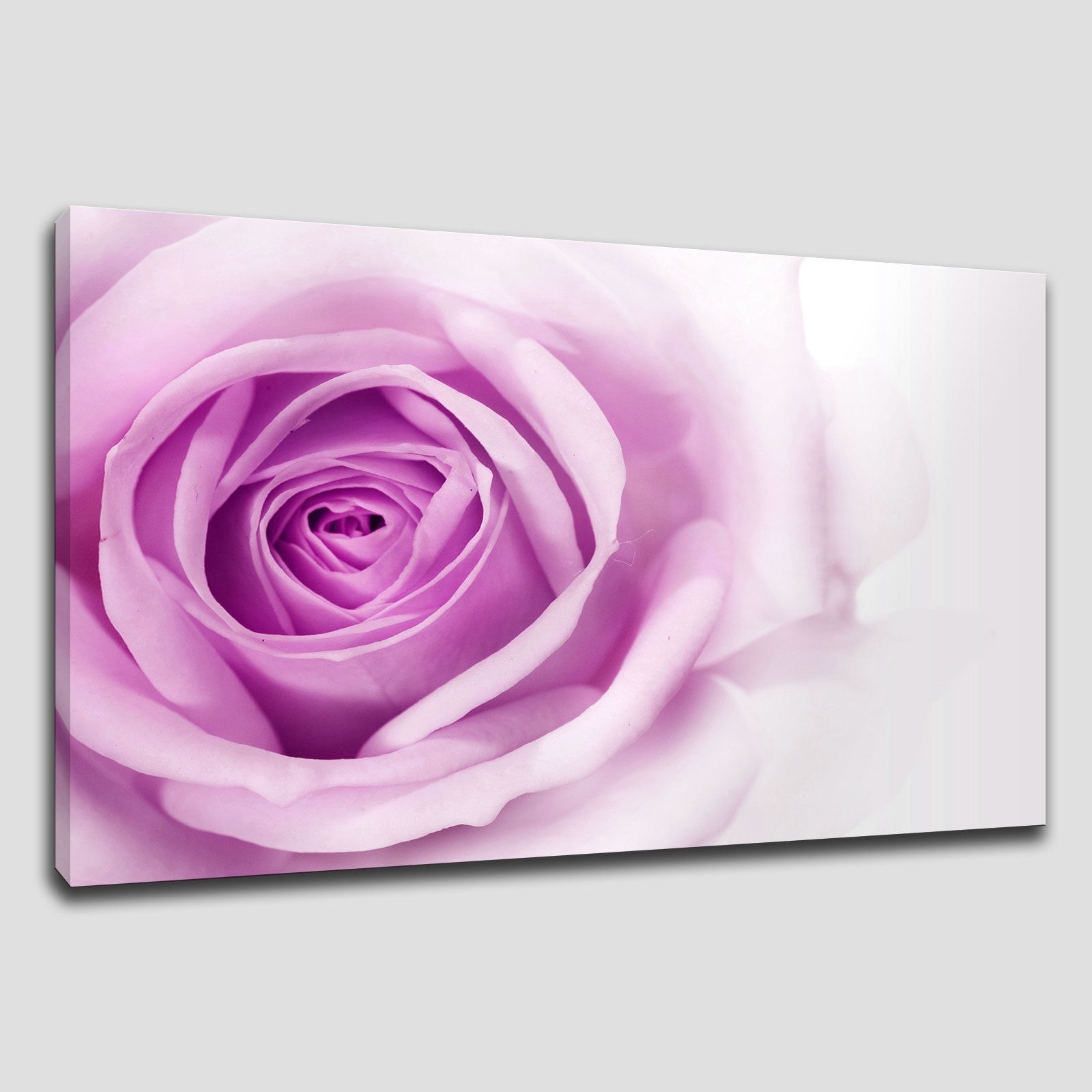 Rose Canvas Wall Art Throughout Preferred Canvas Print Pictures. High Quality, Handmade, Free Next Day Delivery (View 12 of 15)