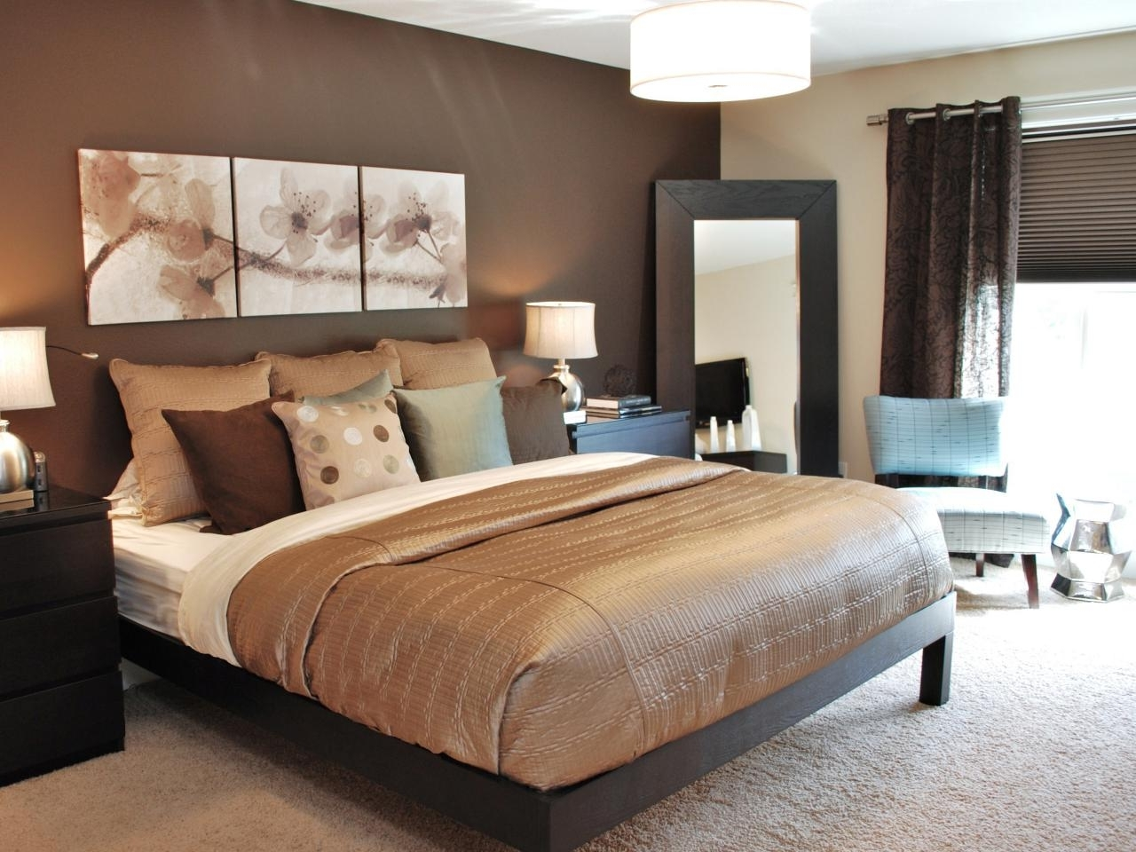 Rugs Beige Sisal With Brown Blankets And Wall Art Plus Pendant With Fashionable Over The Bed Wall Art (View 15 of 15)