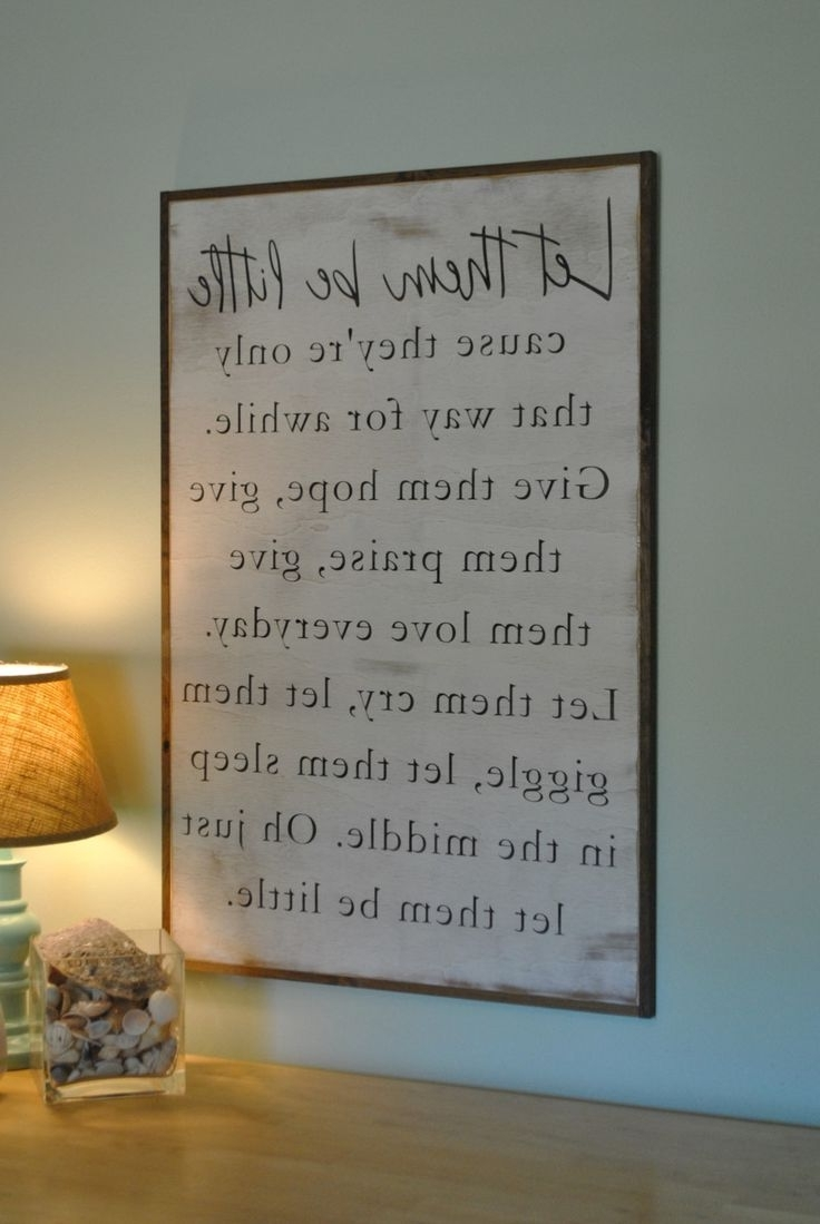 Rustic With Shabby Chic Canvas Wall Art (View 12 of 15)