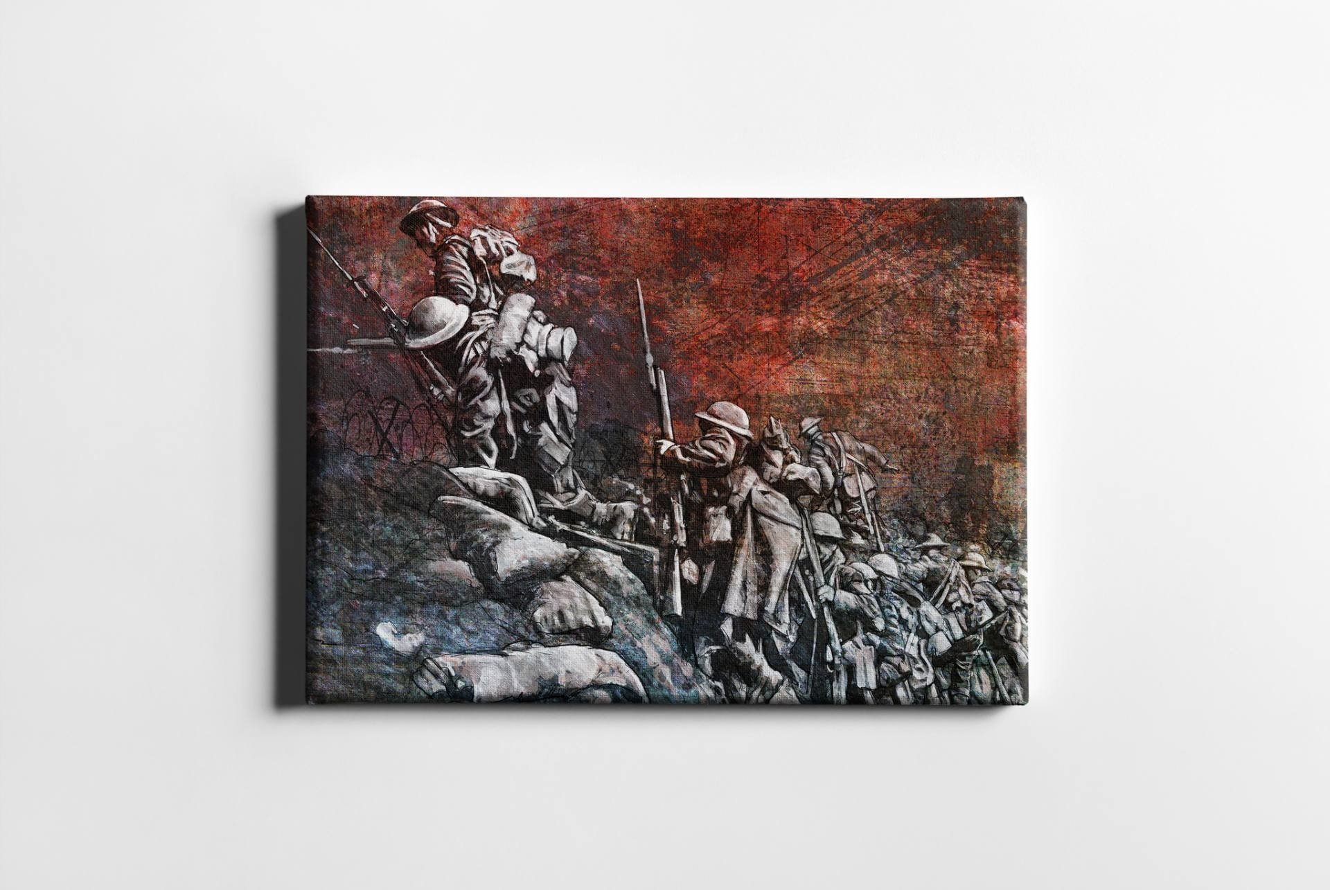 Saatchi Art: Remembrance Day Art Original Limited Edition Canvas Within Most Up To Date Limited Edition Canvas Wall Art (View 14 of 15)