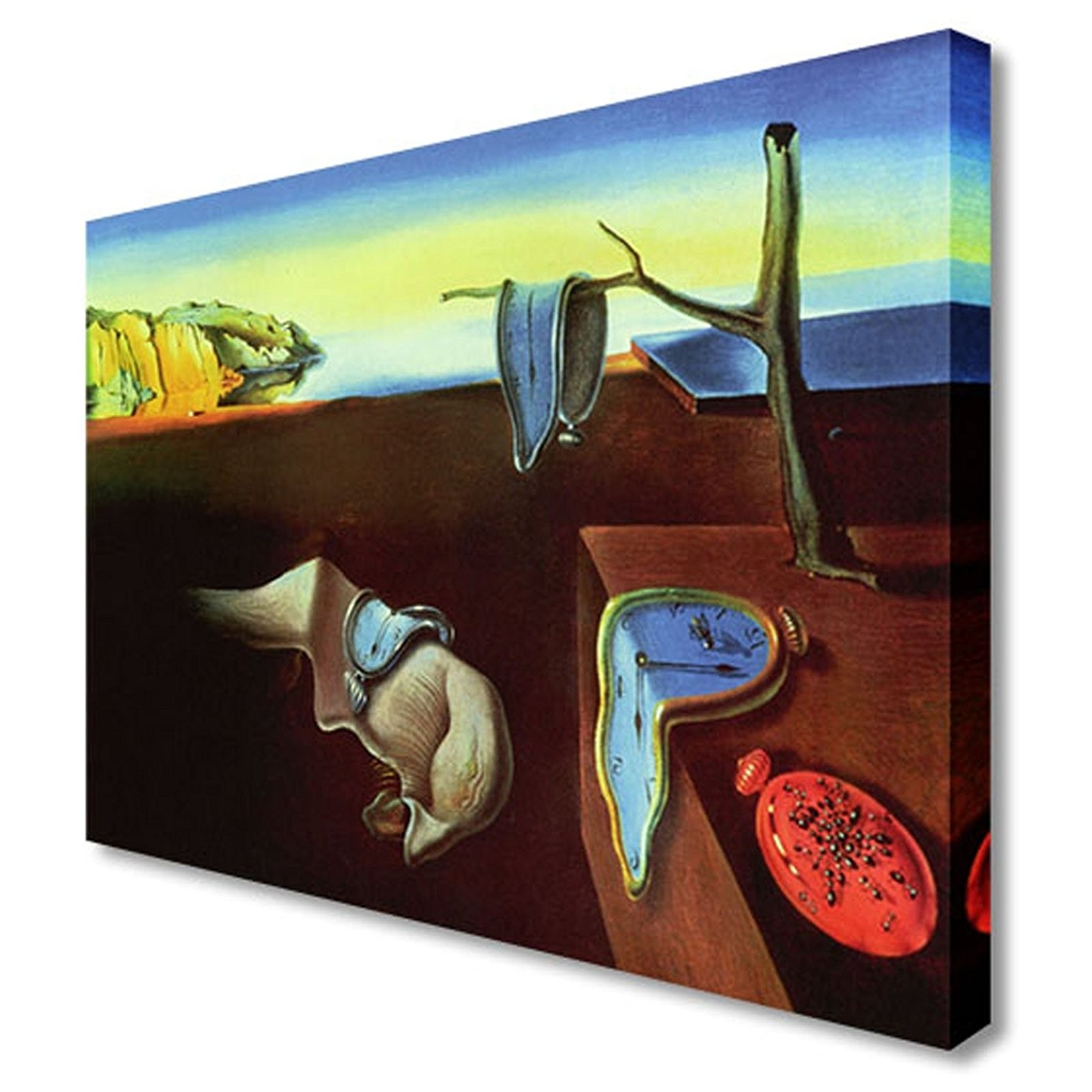 Salvador Dali Wall Art Intended For Current Salvador Dali – The Persistence Of Memory Canvas Art Cheap Print (View 8 of 15)