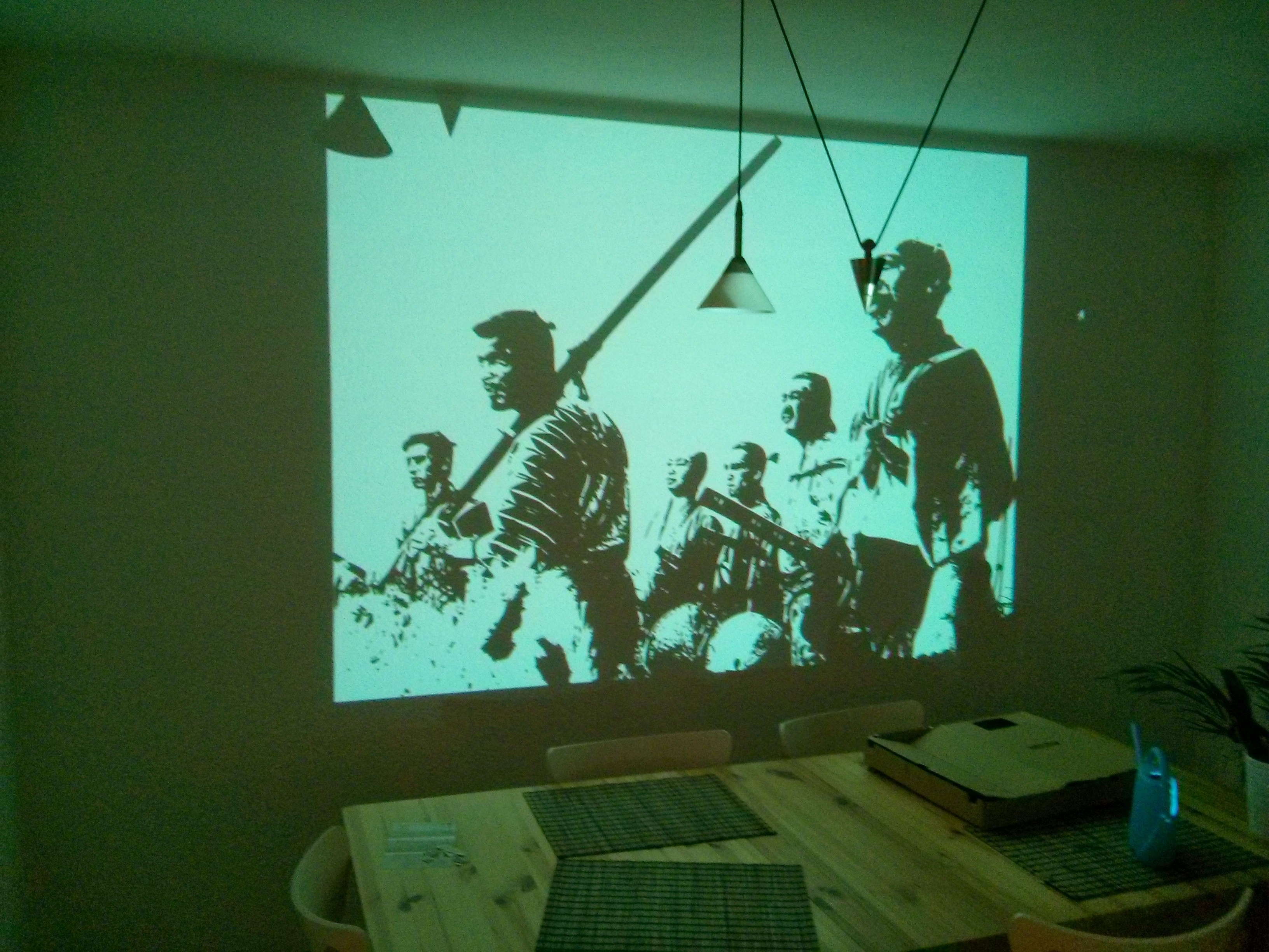 Samurai Wall Art Inside Preferred Painting Seven Samurai – Making Of – Album On Imgur (View 15 of 15)