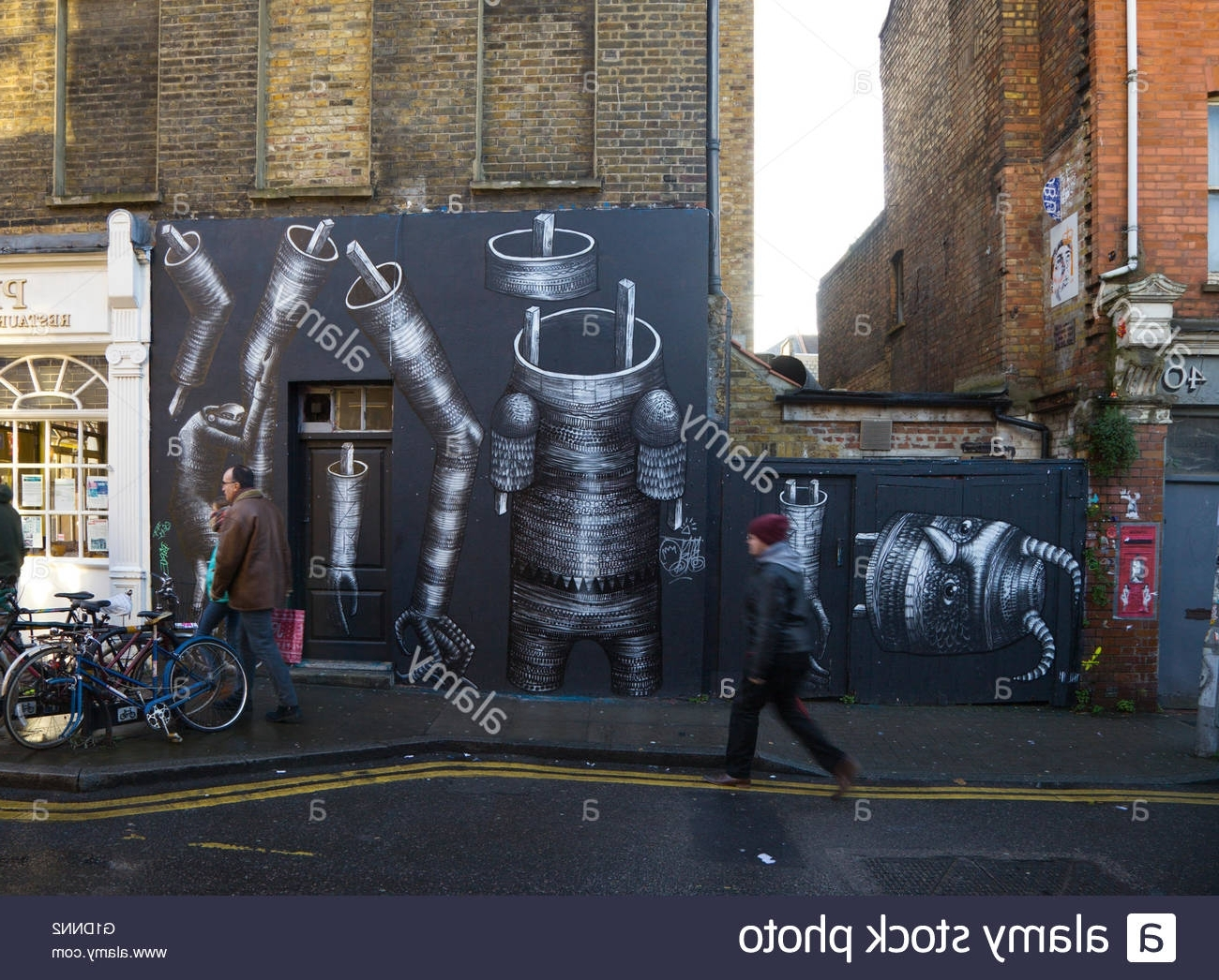 Scene In Hanbury Street, East London (View 14 of 15)