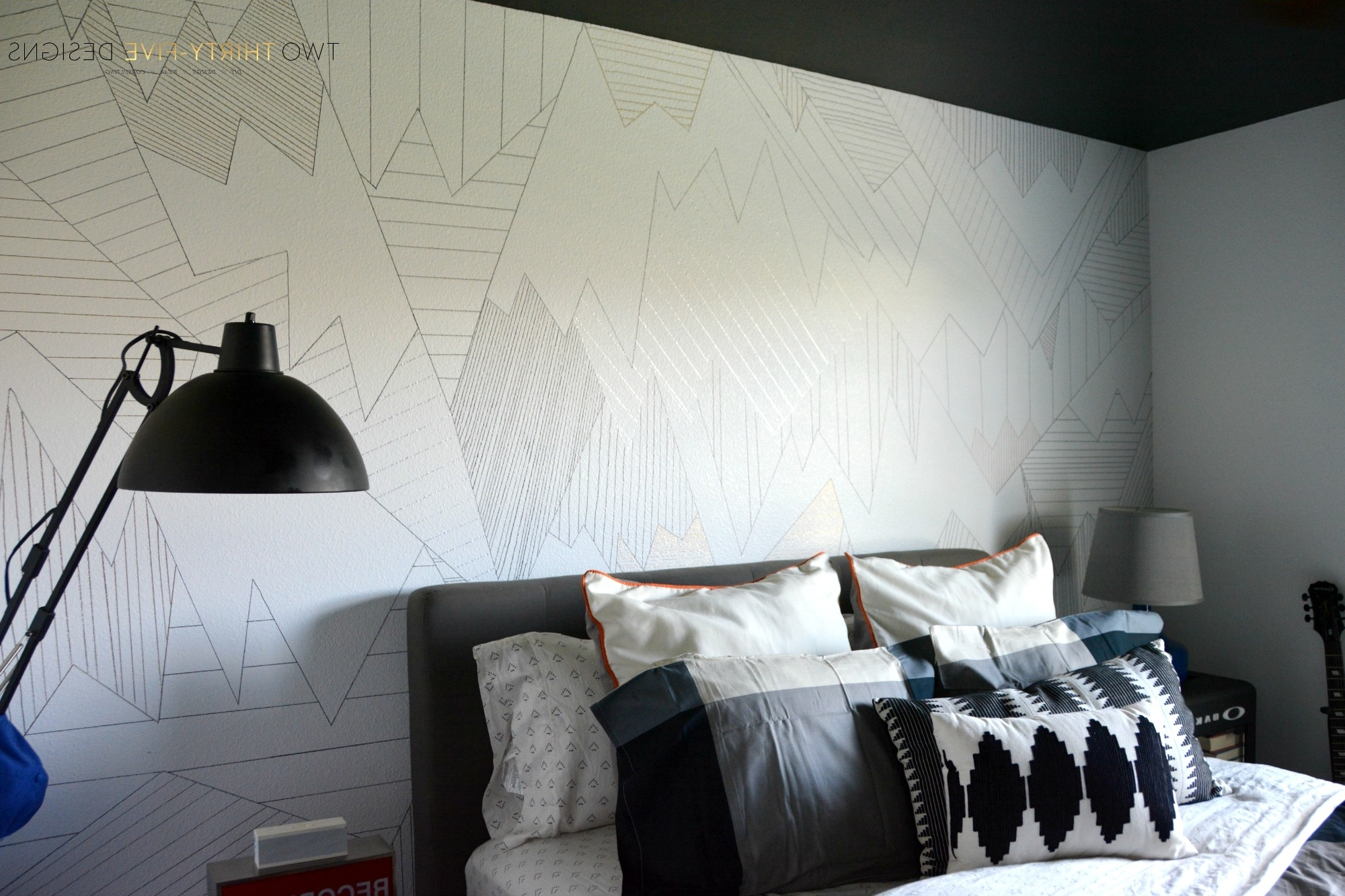 Sharpie Wall Art Intended For Most Up To Date Diy Sharpie Wall – Two Thirty Five Designs (Gallery 5 of 15)