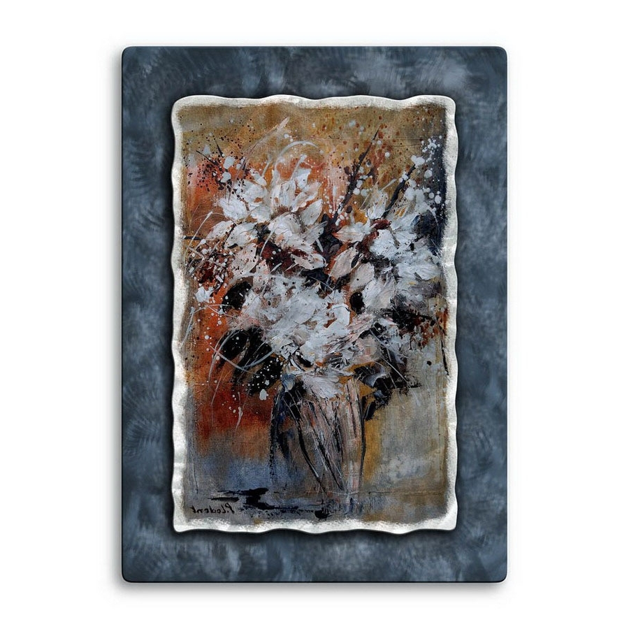 Shop All My Walls 23 In W X 32 In H Botanical Metal Wall Art At Inside Fashionable Botanical Metal Wall Art (View 4 of 15)