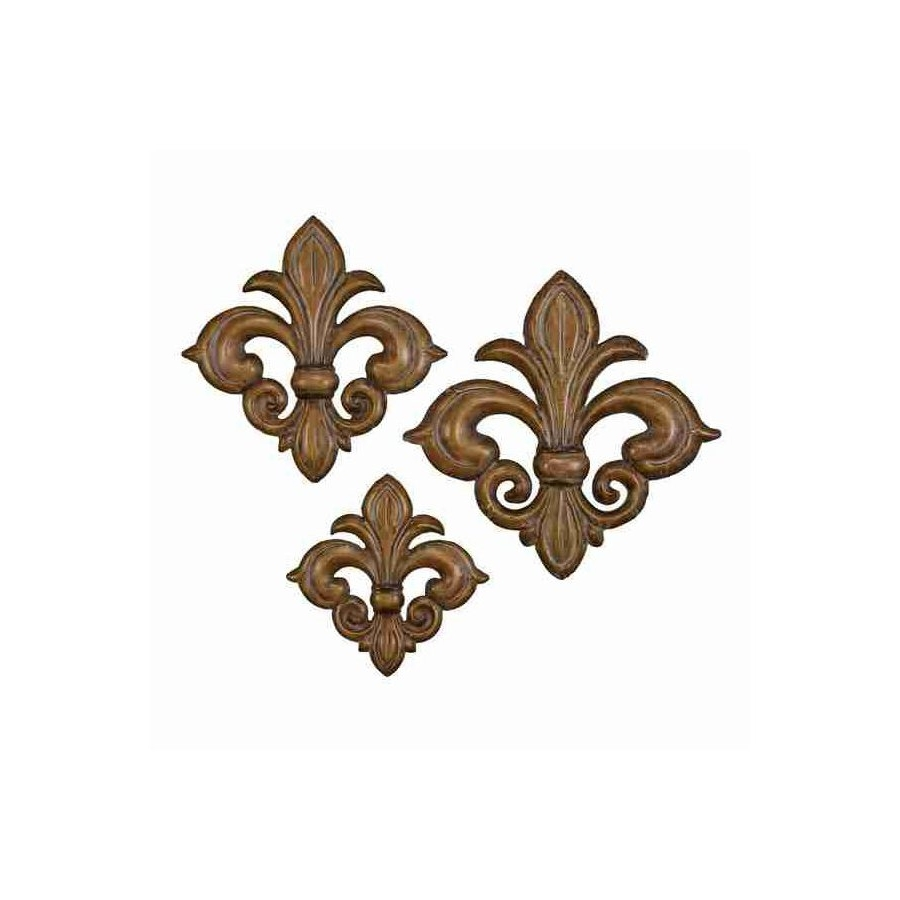 Shop Uma Enterprises Fleur De Lis Metal Wall Art At Lowes In Most Recent Fleur De Lis Metal Wall Art (View 13 of 15)