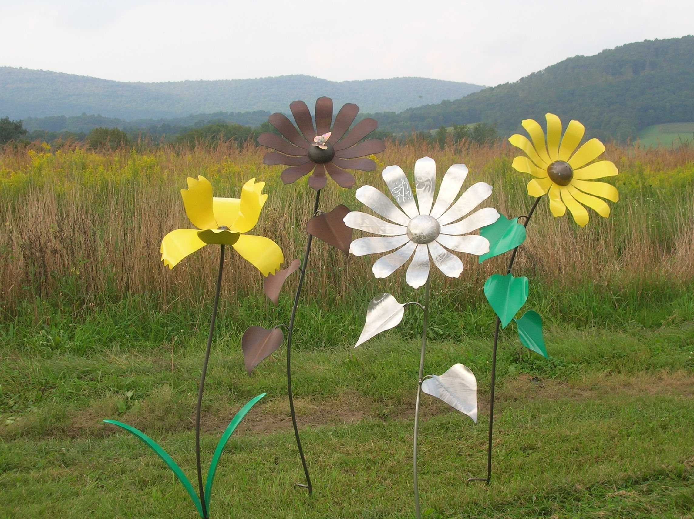 Shull's Metal Fab For Preferred Metal Sunflower Yard Art (View 13 of 15)