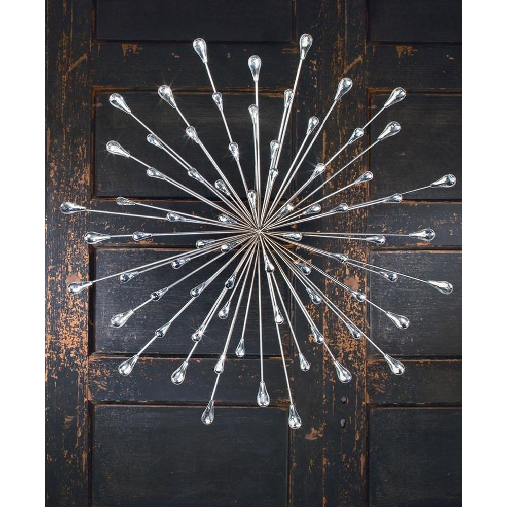 Featured Photo of Silver Starburst Wall Art
