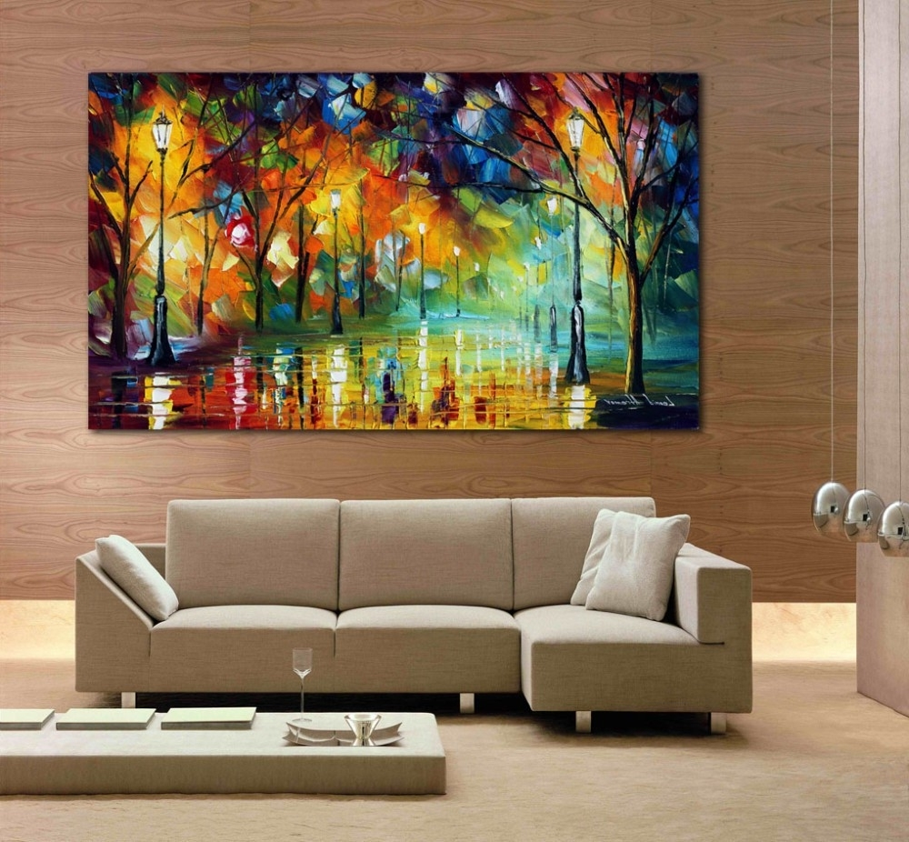 15 best collection of abstract wall art for dining room for Best paintings for living room