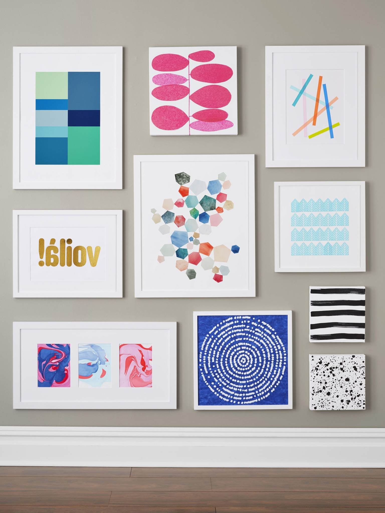 Small Canvas Wall Art With Famous Wall Art Design: Homemade Wall Art Do It Yourself Creative Modern (View 9 of 15)