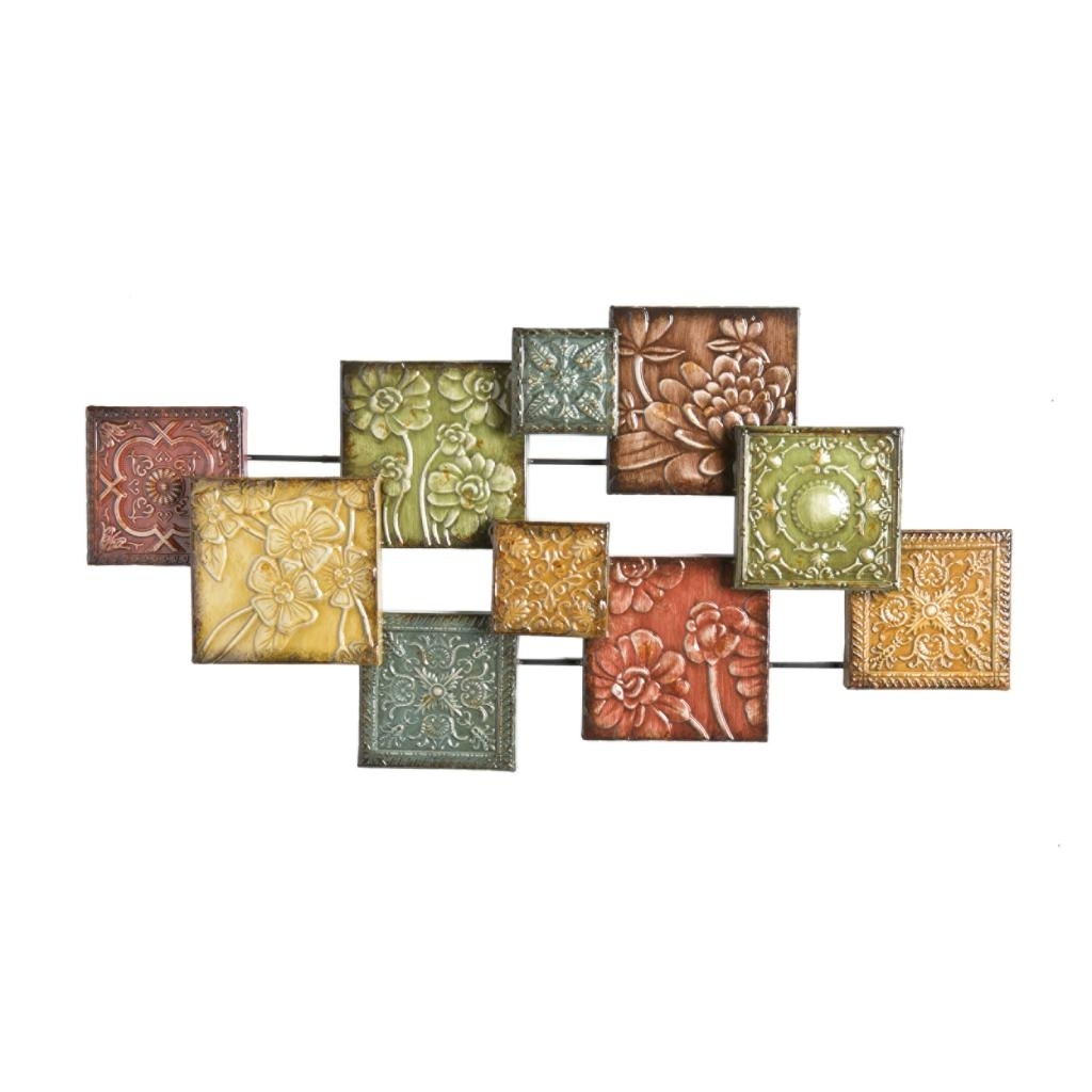 Southern Enterprises Abstract Wall Art Pertaining To Widely Used Southern Enterprises Bijou Wall Sculpture: Amazon (View 11 of 15)