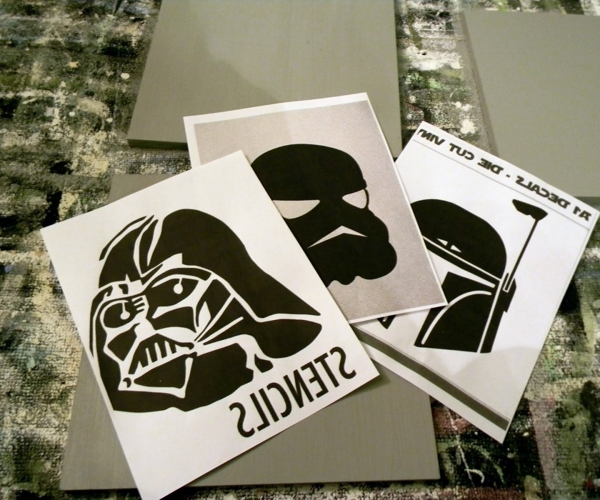 Special Star Wars Room Ideas Star Wars Ideas For A Boy Room Lay Within Well Liked Diy Star Wars Wall Art (View 4 of 15)