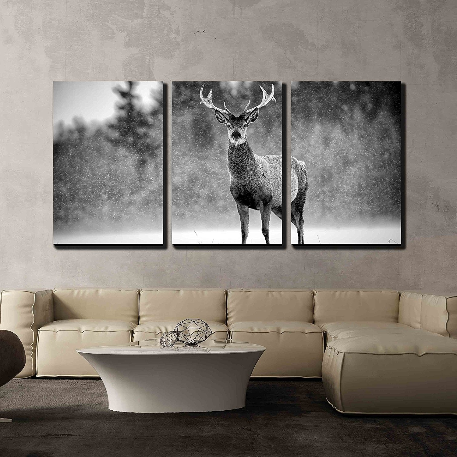Stag Wall Art With Regard To Fashionable Wall26 – Art Prints – Framed Art – Canvas Prints – Greeting (View 14 of 15)