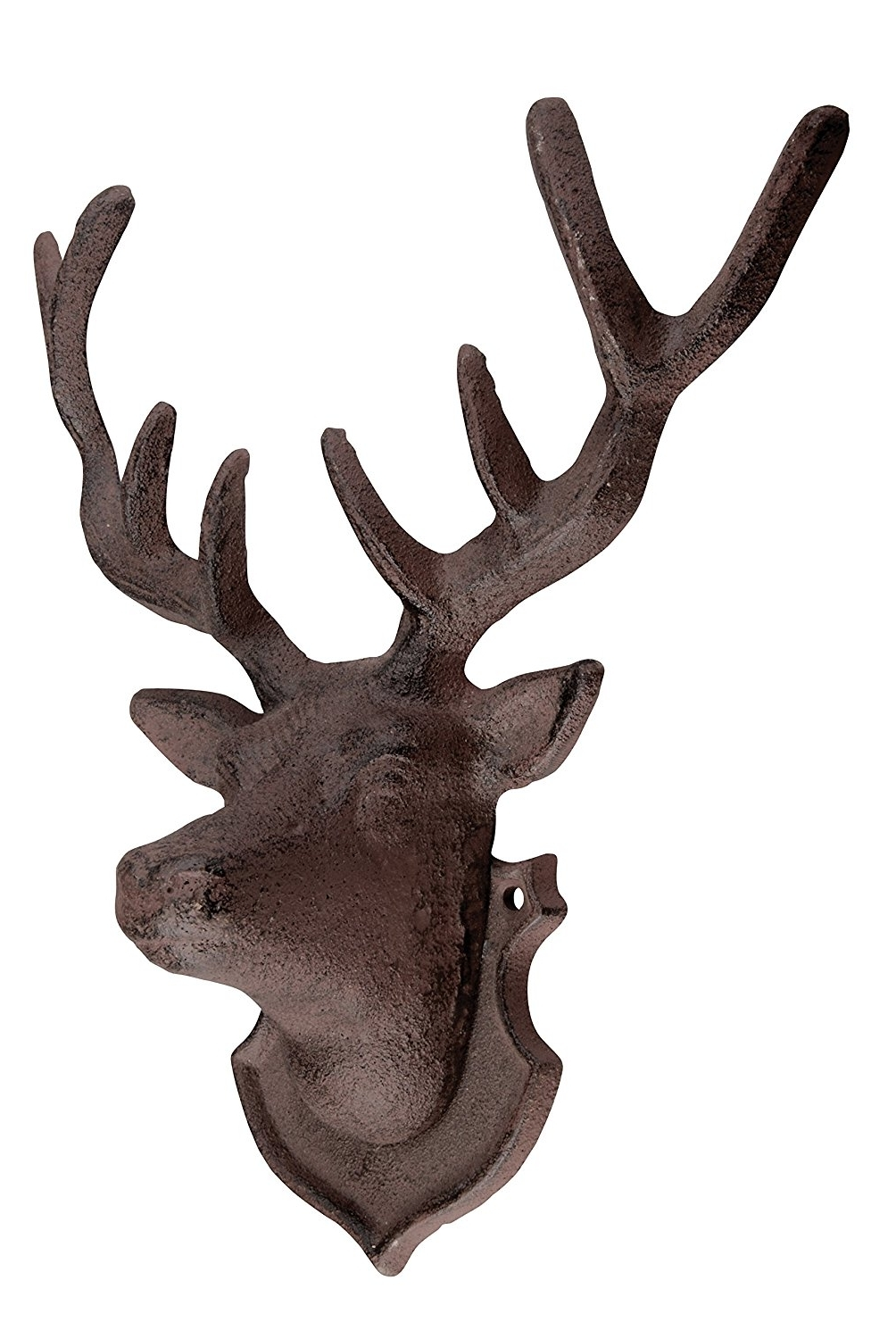 Stags Head Wall Art Pertaining To Widely Used Amazon : Esschert Design Wall Décor Deer : Wall Sculptures (View 10 of 15)