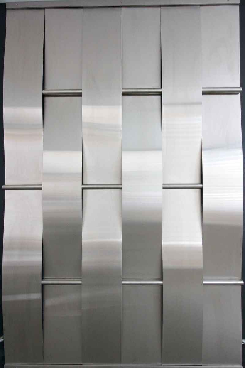 Stainless Steel Within Woven Metal Wall Art (View 8 of 15)