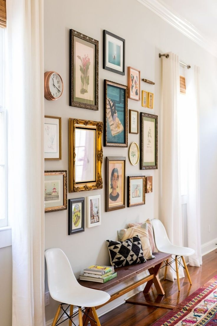 Stairwell In Wall Art Ideas For Hallways (View 8 of 15)