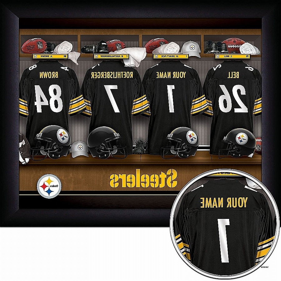 Steelers Wall Art Inspirational Amazon Pittsburgh Steelers For Well Liked Steelers Wall Art (View 12 of 15)