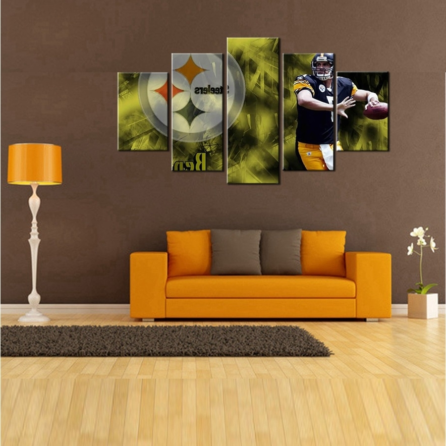 Steelers Wall Art Regarding Best And Newest Fascinating 70+ Steelers Wall Art Decorating Design Of Wall (View 13 of 15)