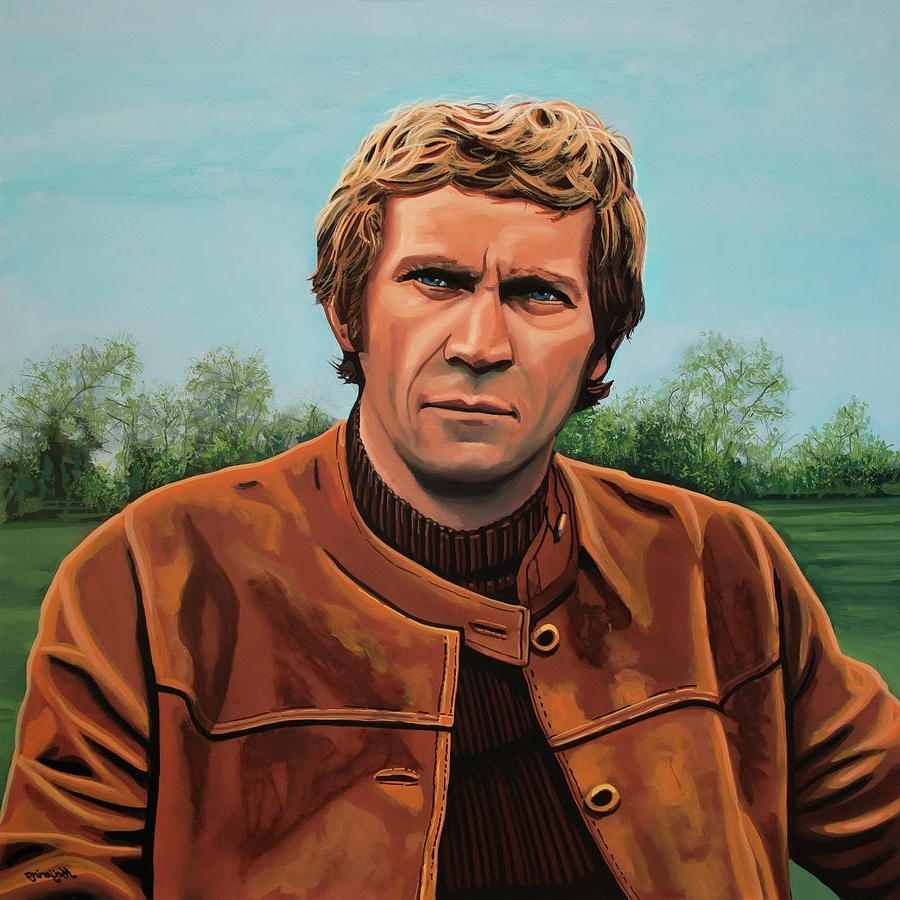 Steve Mcqueen Wall Art Throughout 2018 Steve Mcqueen Painting Paintingpaul Meijering (View 10 of 15)
