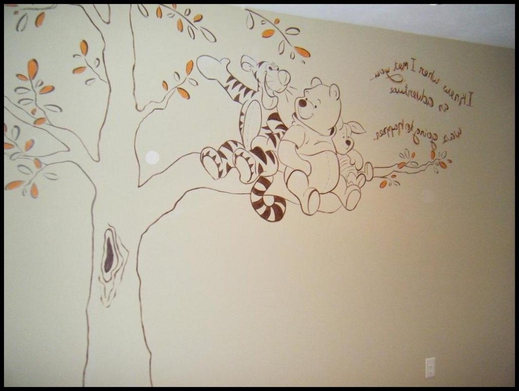 Stupefying Winnie The Pooh Wall Art Together With 20 Collection Of For Well Liked Winnie The Pooh Wall Art (View 3 of 15)