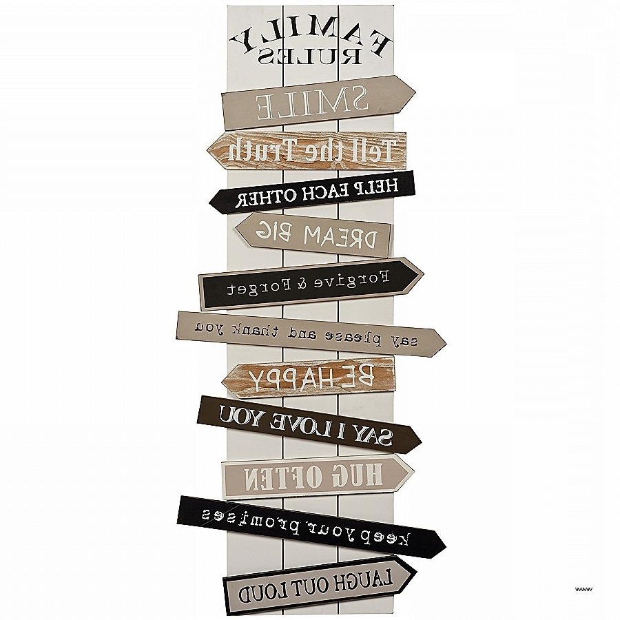 Stylecraft Home Collection Wall Art Inside Favorite Wooden Wall Art Quotes Fresh Wall Art Designs Family Rules Wall (View 9 of 15)