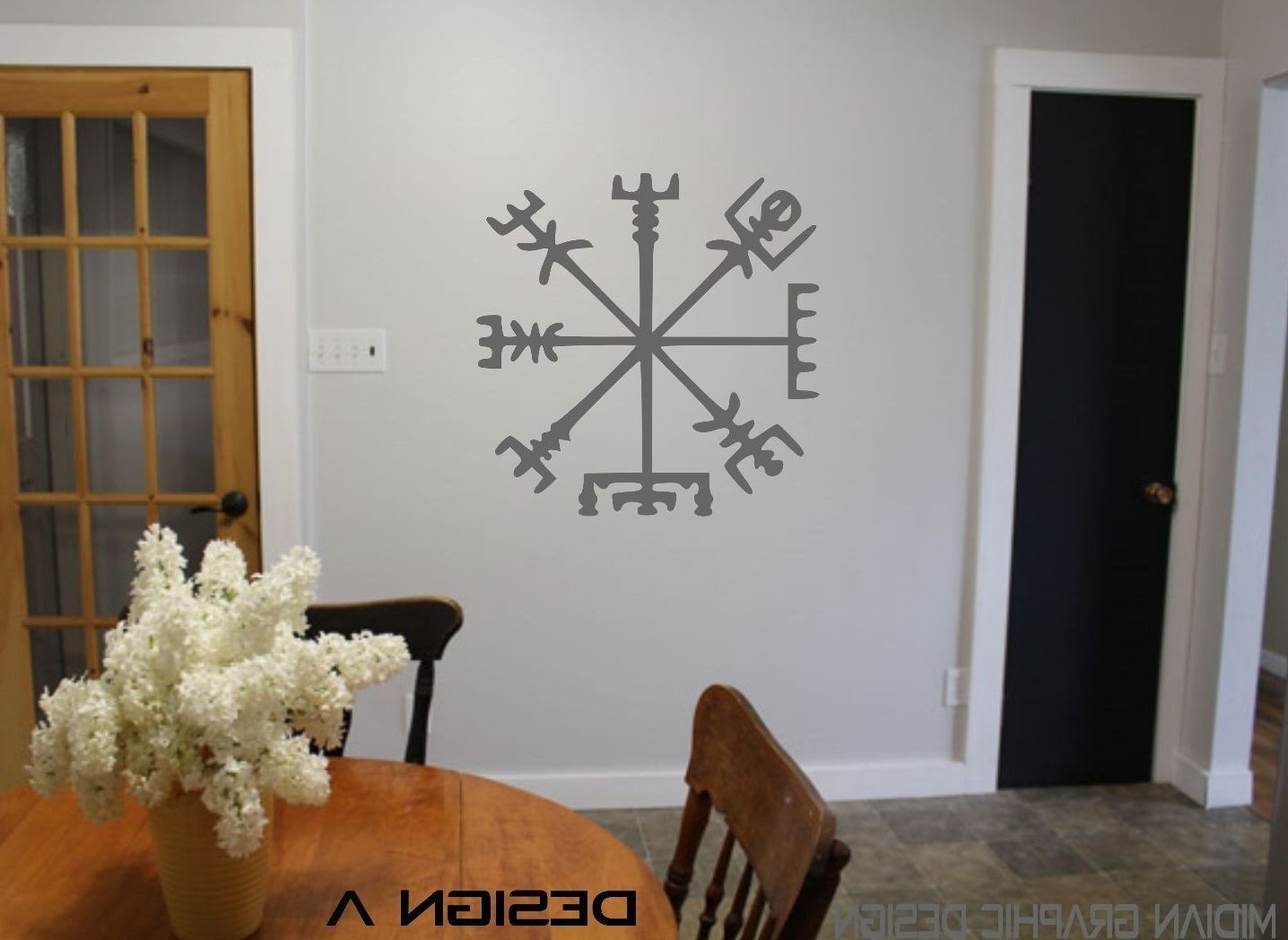 Supernatural Wall Art Within Most Recently Released Dining Room Wall Art Stickers – Appuesta (View 13 of 15)
