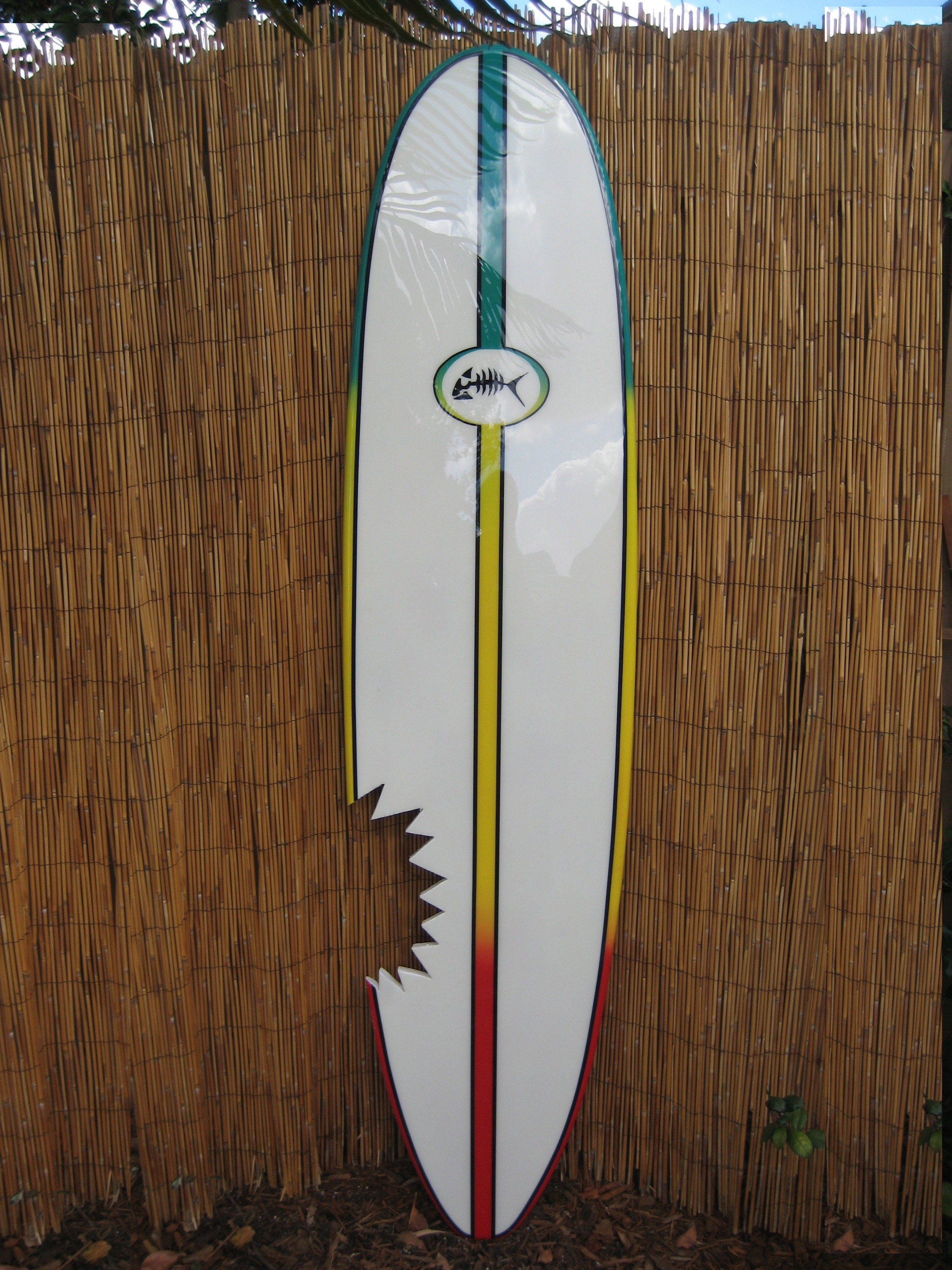 Surf Board Wall Art Throughout Most Up To Date Decorative Wood Surfboard Art Wall Surf Surfboard Decor (View 10 of 15)