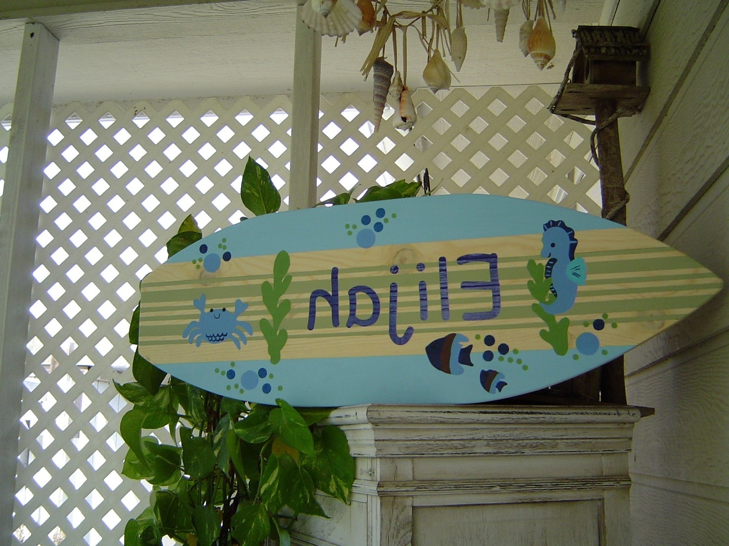 Surfboard Wall Decor Picture (View 13 of 15)