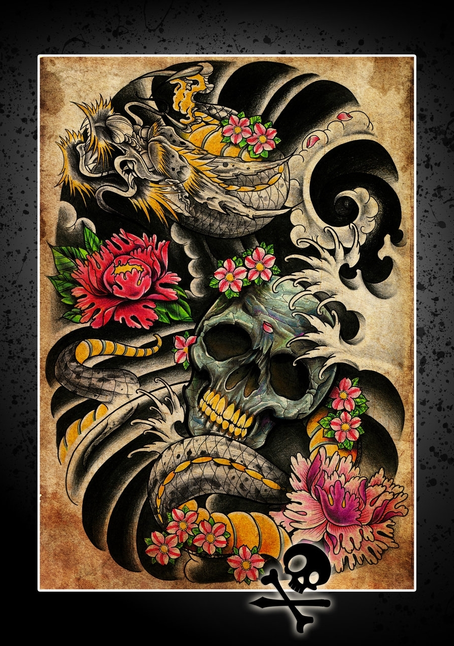 Tattoos Wall Art With Newest Interesting Idea Tattoo Wall Art Canvas Artwork Prints Uk Artist (View 13 of 15)