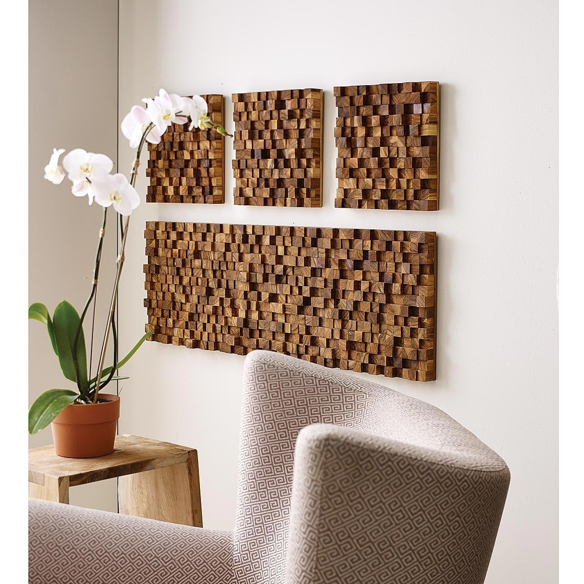 Teak Wood, 3D Art (View 9 of 15)
