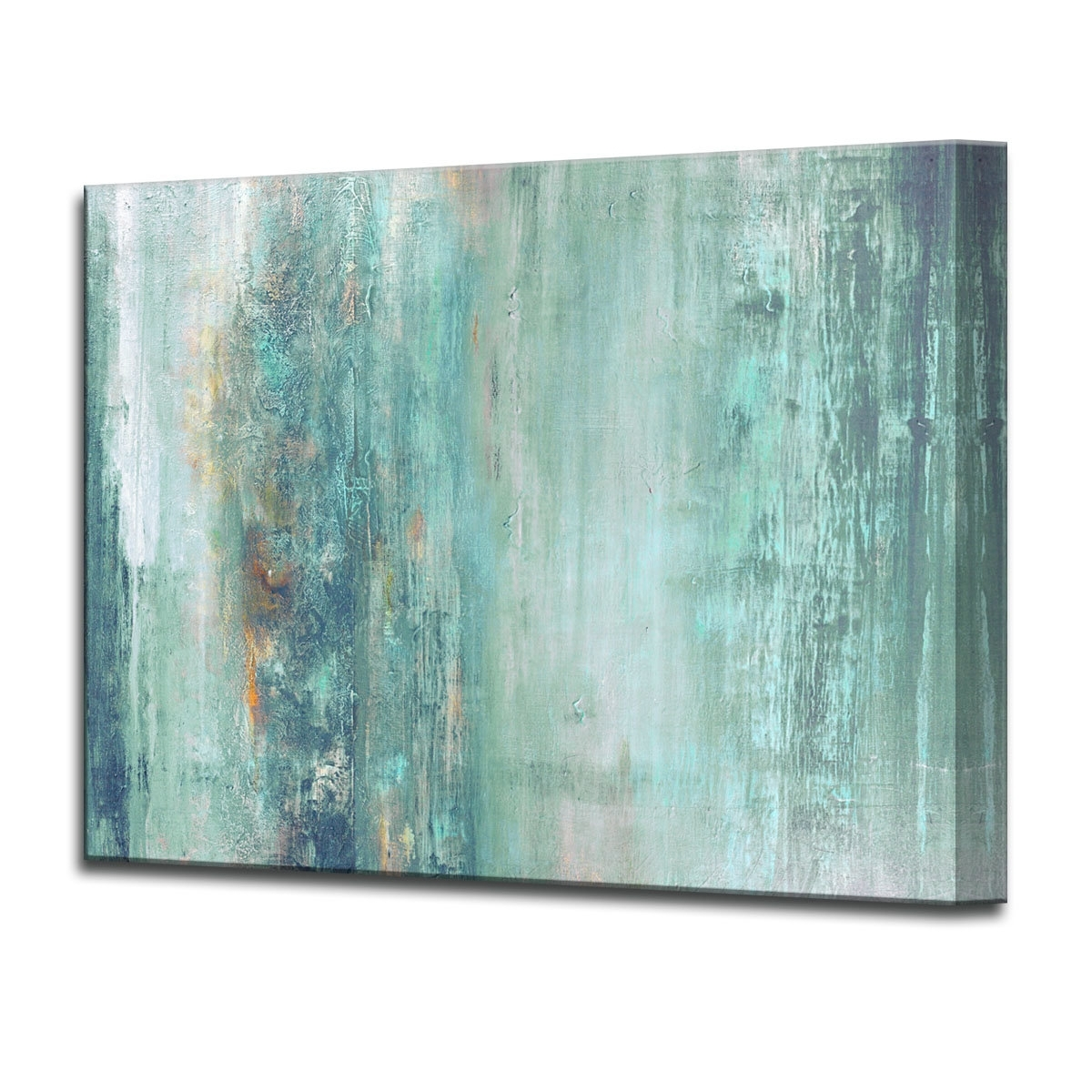 Teal And Green Wall Art Regarding Latest Blue Wall Art You'll Love (View 12 of 15)
