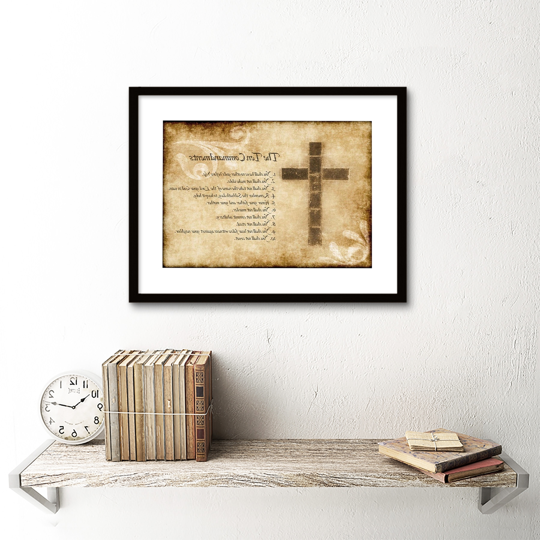 Ten Commandments Wall Art Within Famous Best 40+ Ten Commandments Wall Art Design Inspiration Of Wall (View 12 of 15)