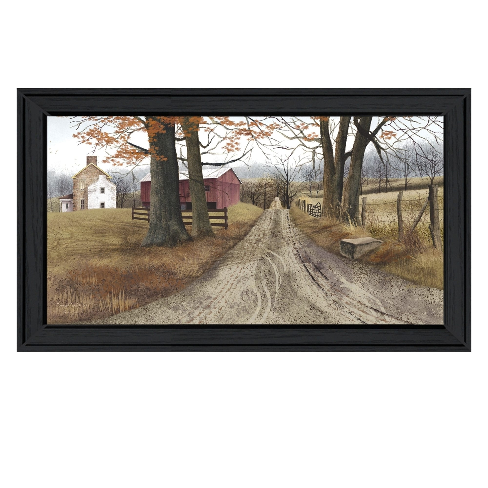 "The Road Home""billy Jacobs, Printed Wall Art, Ready To Hang Intended For Widely Used Billy Jacobs Framed Wall Art Prints (View 15 of 15)"