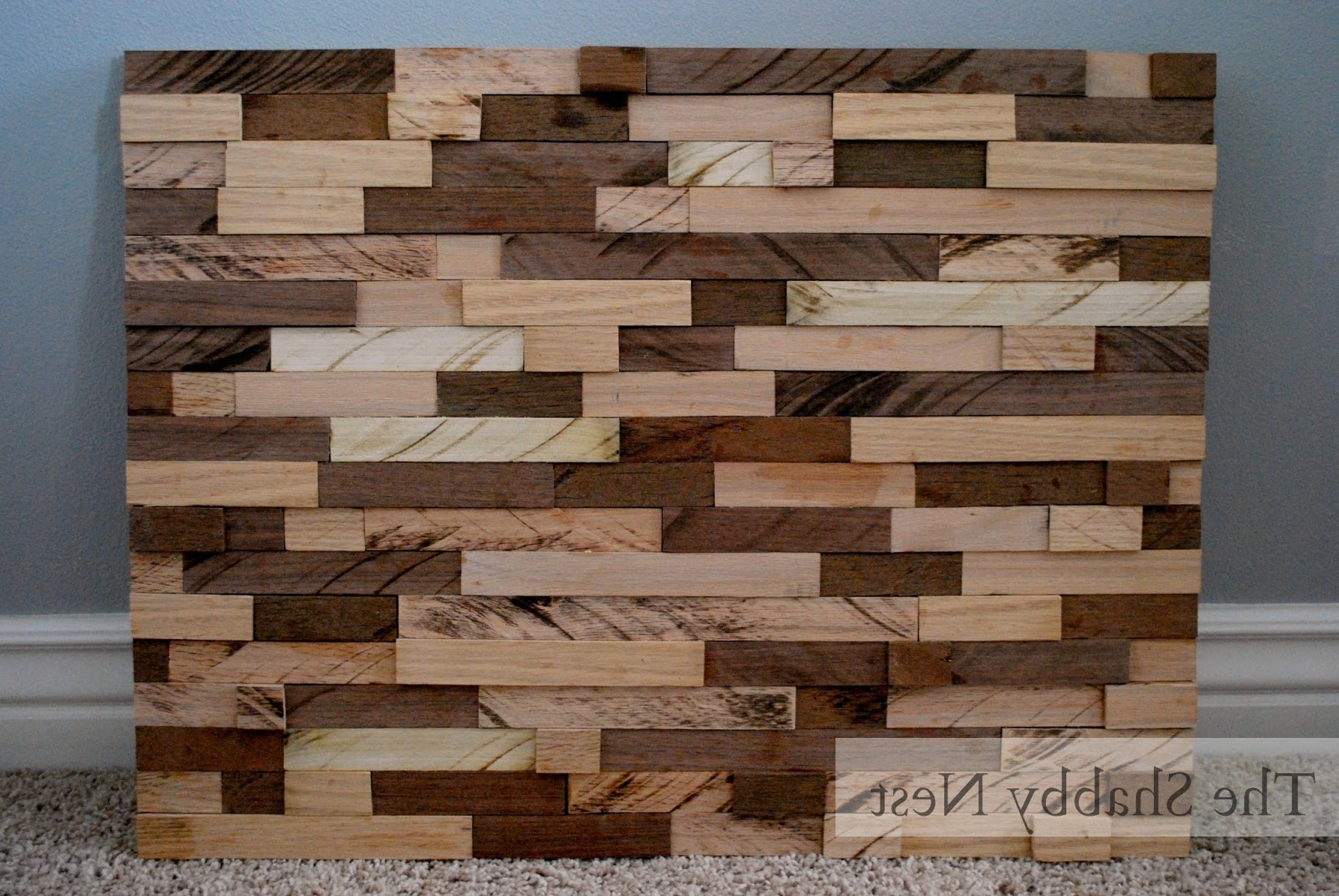The Shabby Nest: January 2013 Intended For Best And Newest Talking Dead Wood Wall Art (Gallery 8 of 15)