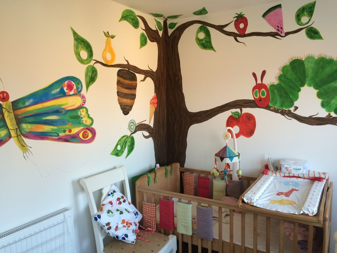 The Very Hungry Caterpillar Wall Mural … (View 5 of 15)